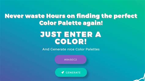 color gradient generator color palettes generator and color gradient tool