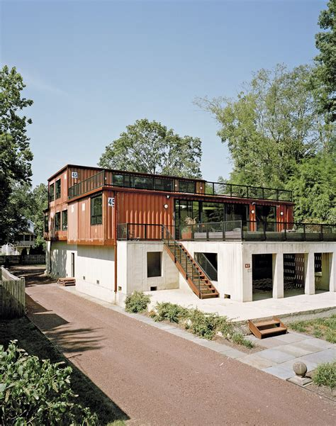 shipping container home  pennsylvania embraces