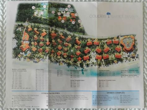 Couples Resorts Locations Map Picture Of Couples Swept Away Negril Tripadvisor