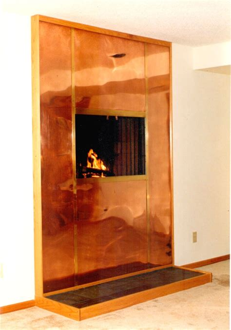 45 best copper fireplace surrounds images on