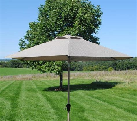 backyard creations umbrella backyard creations grant park umbrella at menards 174