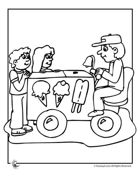 ice cream truck coloring page ice cream truck coloring page coloring home