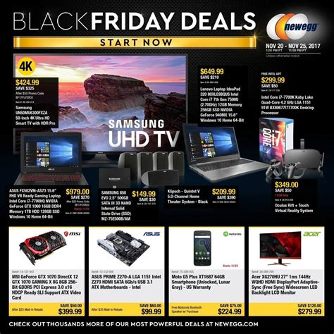 Gift Card Deals November 2017 - newegg 2017 black friday ad frugal buzz