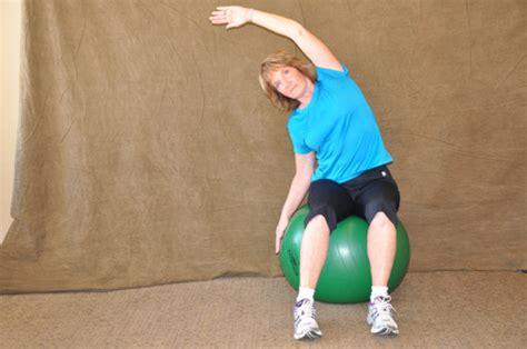 swiss ball exercises  seniors coon rapids chiropractic