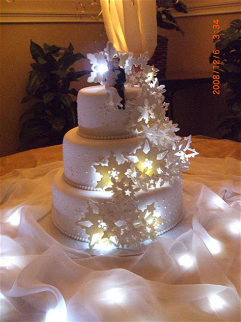Light Up Snowflake Cake Flickr Photo Sharing Light Cakes