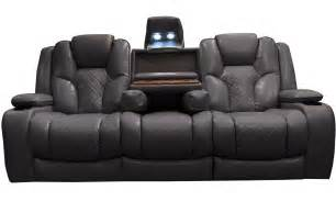 Kingvale Power Recliner Bastille Power Reclining Sofa With Drop Table