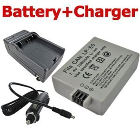 Charger Kamera Canon 1000d wowparts replacement canon lp e5 battery charger for canon eos rebel xs xsi t1i