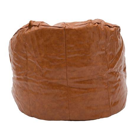 poltrona sacco ecopelle poltrona sacco in ecopelle marrone