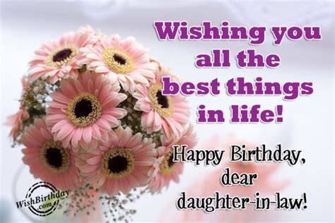 Happy Birthday Wishing You All The Best Birthday Wishes For Daughter In Law Birthday Images
