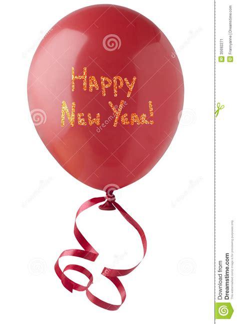 happy  year balloon  glitter stock image image