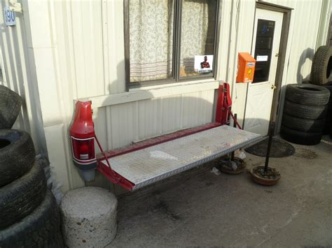 tailgate bench on wall curbside ingenuity when is a tailgate not just a tailgate