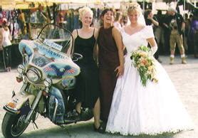 Motorradtransport Laue by Schloss Callenberg Rally 2000 Harley Davidson Treffen In
