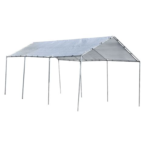 canopy section heavy duty all purpose canopy 12 ft x 20 ft 3 section