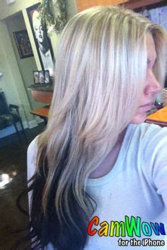 name of hair where the bottom is blonde sanja matukic on pinterest