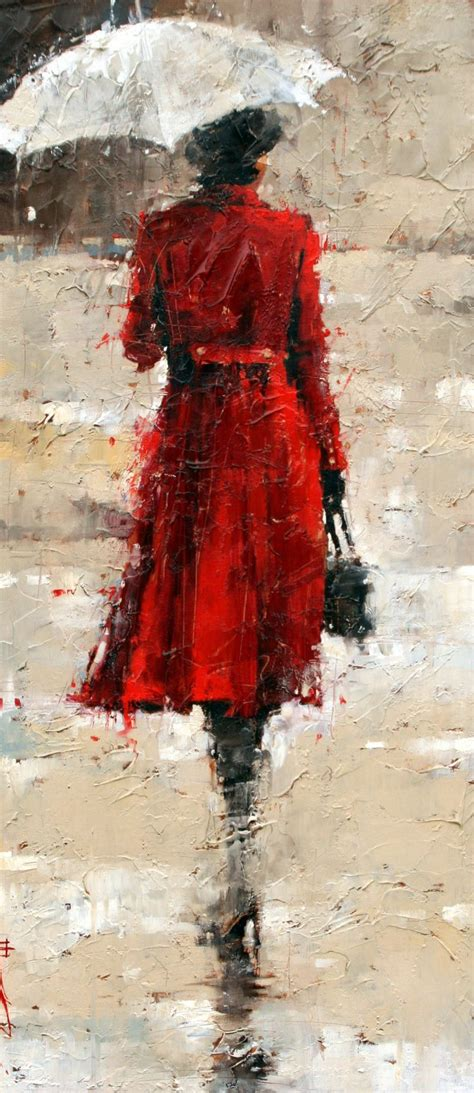 A Pretty With Andre by Figurative Paintings By Andre Kohn Beautiful And