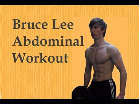 bruce personal abdominal workout remake in hd