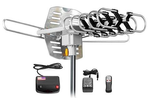 tv antenna digital dtv hdtv wa 2608 lified range indoor outdoor rotating ebay