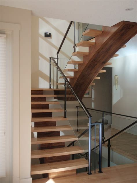 stair banister ideas stair railing ideas staircase modern with open stair chest