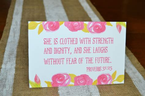 Printable Mothers Day Card Proverbs  Mary Martha