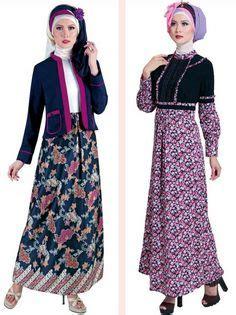 Batik Gamis 50 Http Trendbajubusanamuslim Contoh Model Baju Gamis