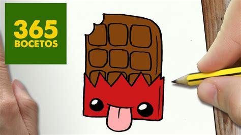 imagenes kawaii 365 bocetos como dibujar chocolate kawaii paso a paso dibujos kawaii