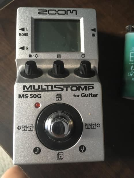 Zoom Ms50g Ms 50g Ms 50g Multistomp Pedal zoom ms 50g multistomp effect pedal reverb