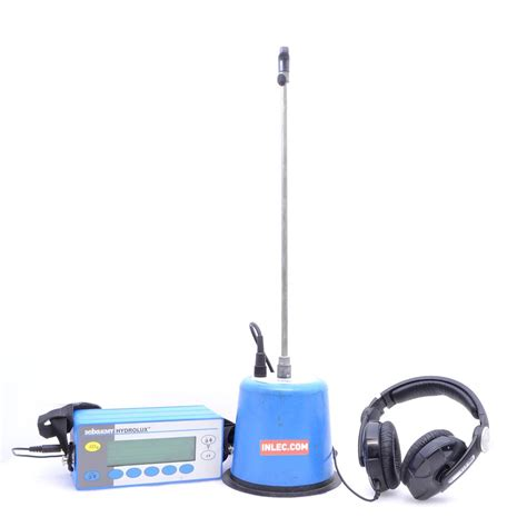 Plumbing Leak Detection Equipment by Hydrolux H500 Water Leak Detection Ground Microphone