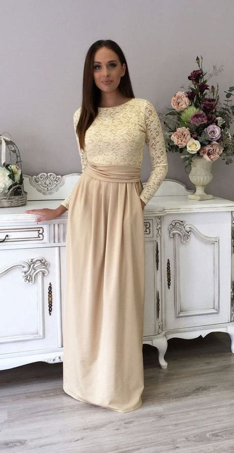 elegante langarm kleider