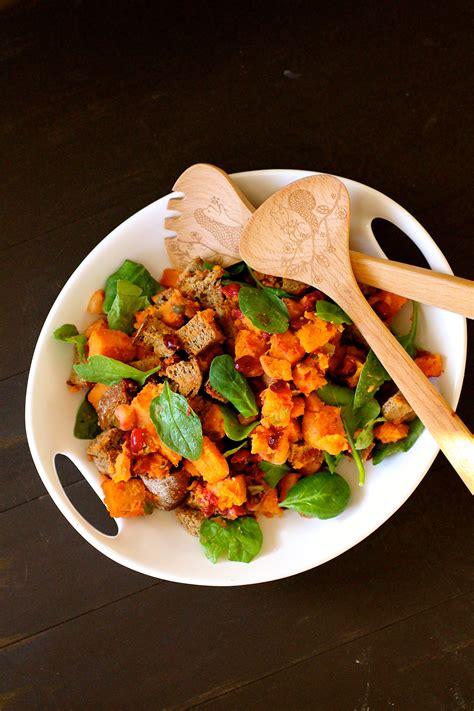 greek panzanella the curvy carrot sweet potato panzanella the curvy carrot