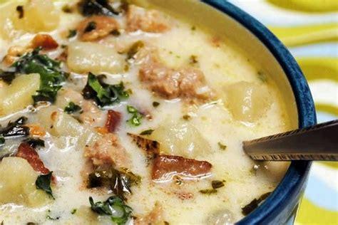 olive garden sausage soup delicious soup s