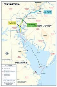 delaware river on map