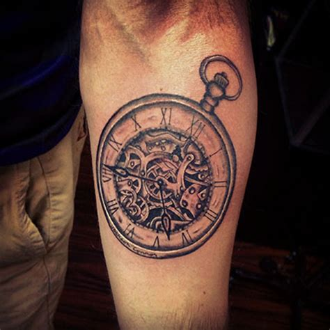 clock gears tattoo 22 clock gear tattoos ideas