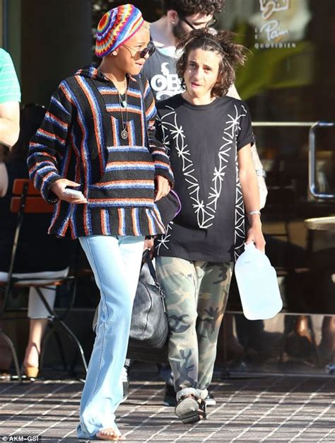 willow smith in bed with older man willow smith 13 pictured lying in bed with 20 year old