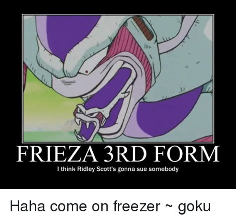 frieza 3rd form i think ridley scott s gonna sue somebody