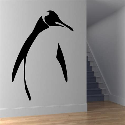 penguin home decor wall decal cute penguin wall decals ideas penguin wall