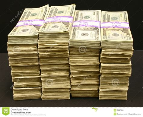 what is l stack stacks of stock photo image of dollars bills bank