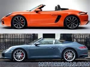 Porsche Boxster Vs 911 2017 Mazda Mx 5 Miata Rf Vs 2016 Mazda Mx 5 Miata Motor