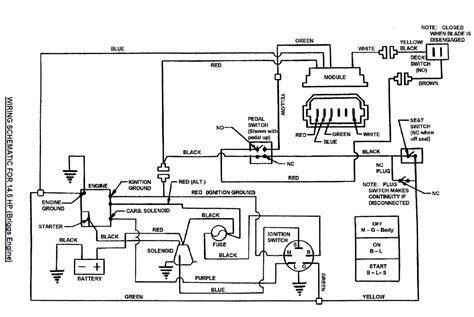 1 2 hp murray lawn mower wiring diagram get free image