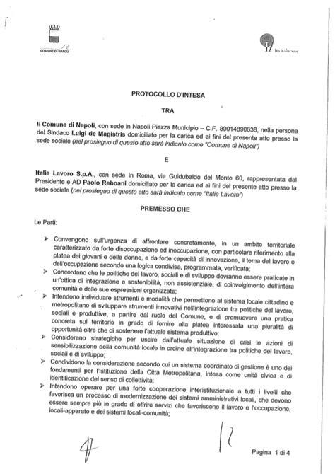sede comune di napoli protocollo comune di napoli italia lavoro