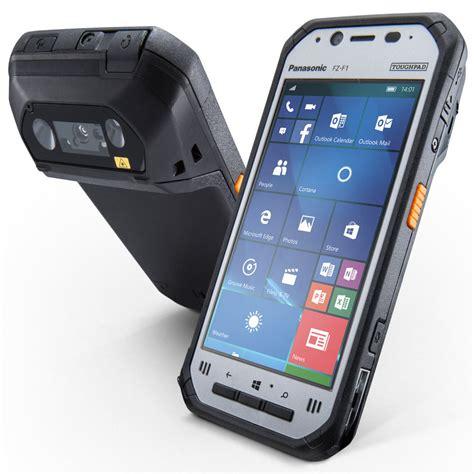 panasonic stellt robuste smartphones fz  und fz  vor
