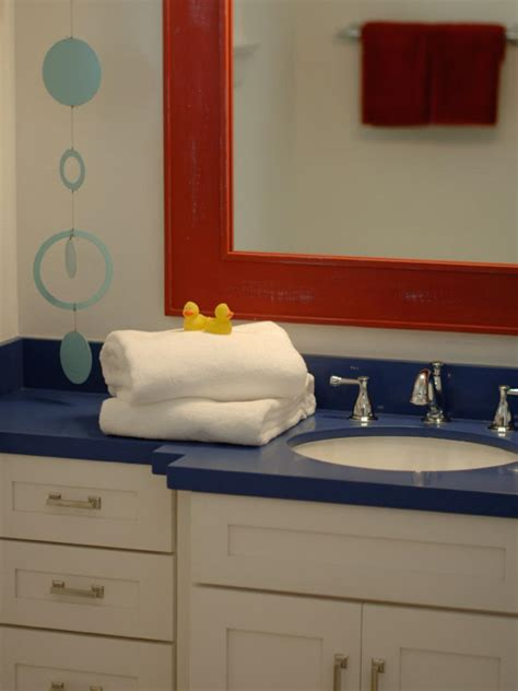 bathroom pictures for kids 12 stylish bathroom designs for kids hgtv