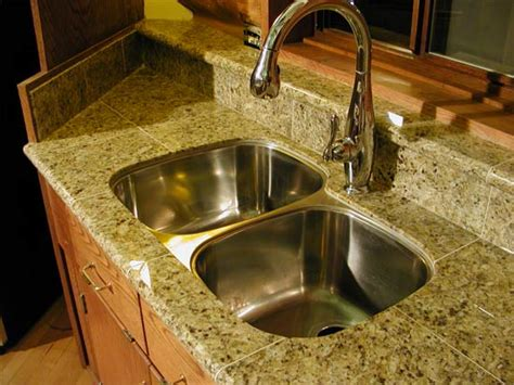 Undermount Sink Tile Countertop by Undermount Sink And Tile Countertop Is It Possible
