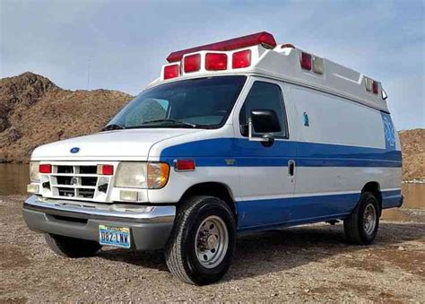ford econoline e350 1997 emergency fire trucks ford e350 1997 emergency fire trucks