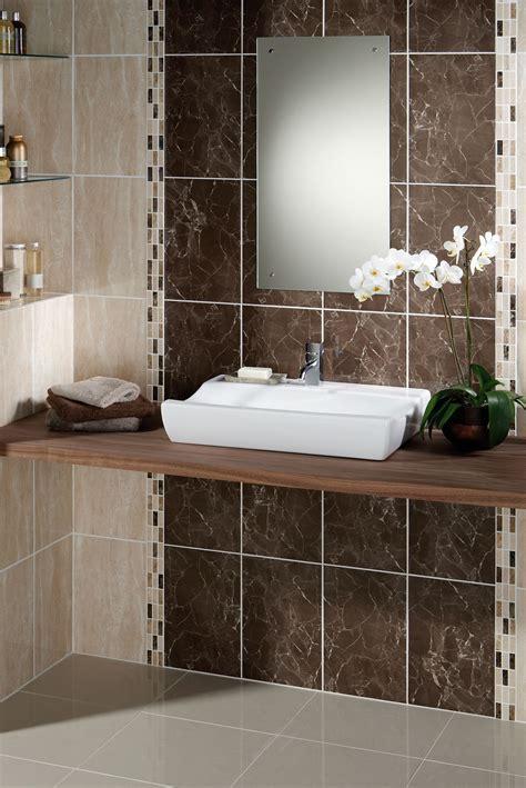 Small Half Bathroom Tile Ideas Come With Gray Ceramic Wall