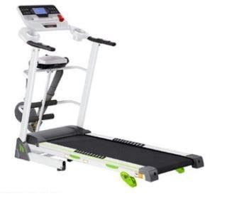 Treadmill Elektrik Tm 638 M Safety Lock Manual Incline alat alat fitnes murah lengkap purwokerto bandung semarang jakarta surabaya kediri magelang