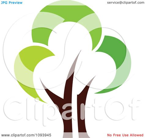 Clipart Green Tree Logo 5 Royalty Free Vector Illustration By Elena 1093945 Green Tree Logos Vector Graphic 01 Vector Logo Free