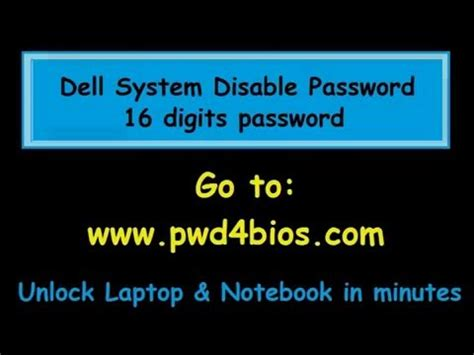 download the pattern password disable full download dell 1f5a bios hdd password unlock