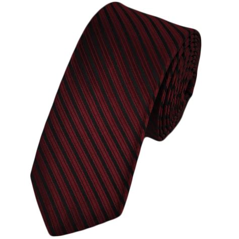 wine black striped tie from ties planet uk