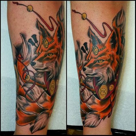 nine tailed fox by dan at nevermore daventry england