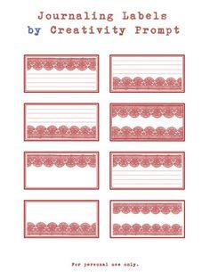 free printable journal labels 1000 images about journaling to use for scrapbooking on